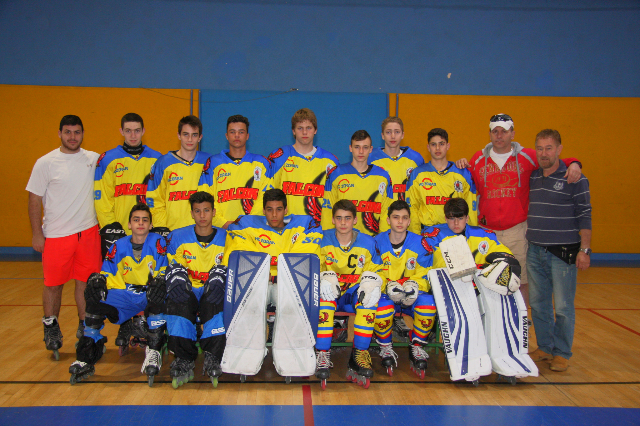 סירטוני המשחקים מטורניר יורוקאפ U16.